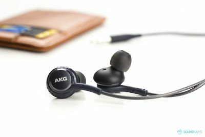 ORIGINAL AND NEW samsung earphones tuned by akg gray