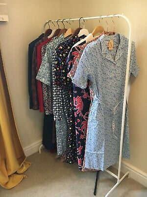 joblot of 10 vintage womens summer dresses size 18-20 perfect condition