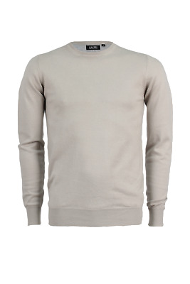 Pullover girocollo Coveri Collection beige Regular Fit