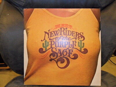 New Riders of the Purple Sage * THE BEST OF LP