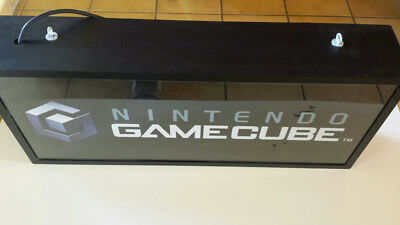 Nintendo Game Cube Leuchtreklame NO Schild Aufsteller Merchandising Display