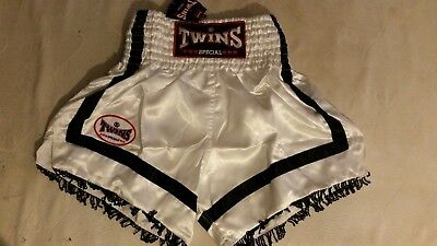 Twins Special Muay Thai Boxing Shorts Trunks TTBL044 50% Off Clearance Sale