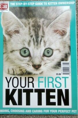 Your First Kitten Magazine Bookazine from the makers of Your Cat
