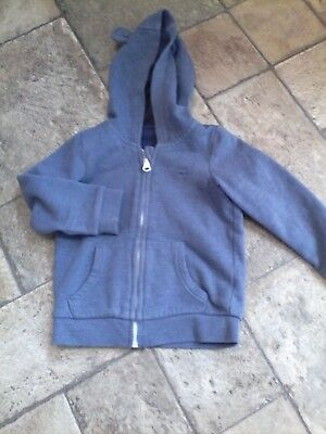 Baby boys clothes.  Grey long sleeved sweatshirt Age 12-18 months