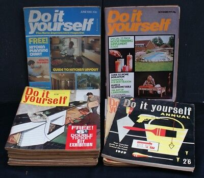 Twelve vintage do it yourself magazines from 1965 to 1980 499 twelve vintage do it yourself magazines from 1965 to 1980 solutioingenieria Image collections