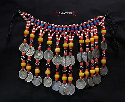Old Berber Necklace – Ait Herbil Tribe – Anti Atlas Mountains, Morocco