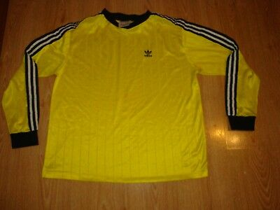 Vintage ADIDAS Shirt MADE IN USA - GERMANY STYLE Jersey RETRO 80s adults XXL
