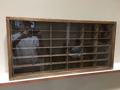 Display case cabinet for 1/43 diecast scale cars - 36NWW-1