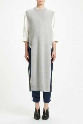 Designer Maternity Sleeveless Maxi Sweater by T by Alexander Wang