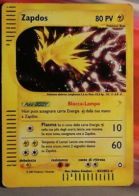 Zapdos holo ita aquapolis pokemon H32