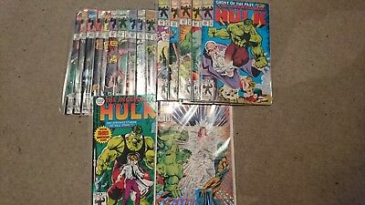 The Incredible Hulk Comics 382-400