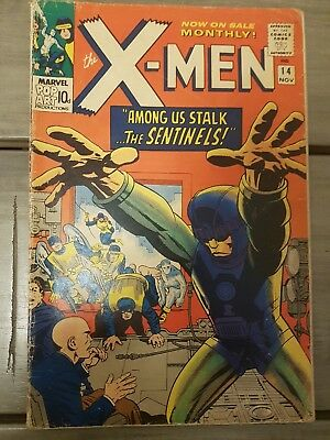 The X-Men #14 Among us Stalk the Sentinals