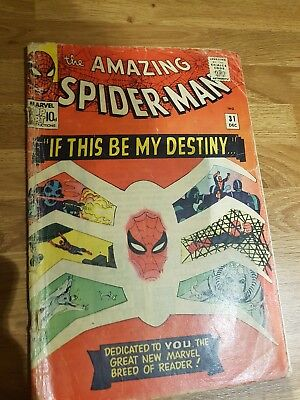 The Amazing Spider-man #31 if this is to be my destiny