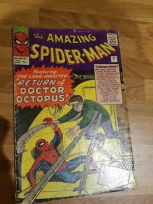 the amazing spider-man #11 return of Doctor Octopus