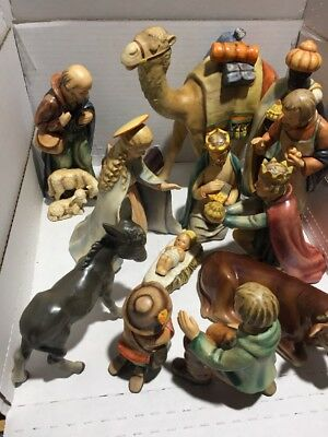 Vintage M.I. Hummel Goebel Nativity set 13 Pieces