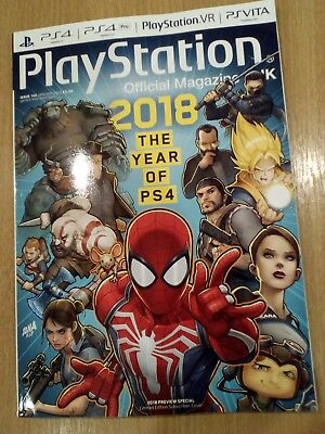 PlayStation Official Magazine #144 January 2018 2018 The Year of PS4