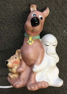 Vintage Scooby Doo Table Night Lamp - Hanna Barbera Production Inc 1984