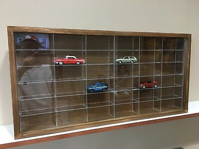 Display case cabinet for 1/43 diecast scale cars - 36NWWa-3