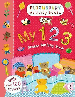 My 123 Sticker Activity Book by Bloomsbury BRAND NEW BOOK  (Paperback, 2013)