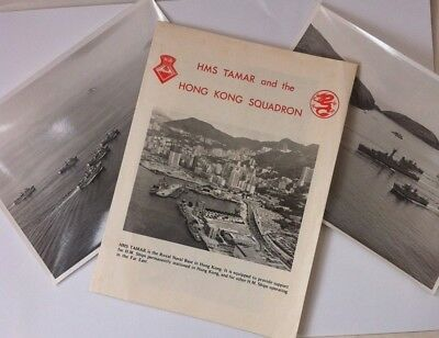 Hms Tamar & The Hong Kong Squadron Welcome Aboard Pr Pamphlet,royal Navy