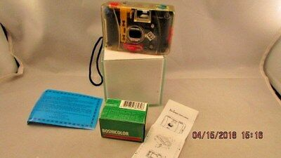 ENRON Logo promotional 35mm camera acrylic case Boshicolor film CMI corporation