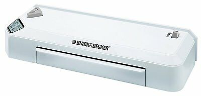 "BLACK & DECKER Flash  9.5"" Fast Heat Thermal Laminator Hot/Cold (LAM95) free shp"