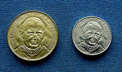 Vatican 20, 50 Lire 1993. Choice UNC. Pope John Paul II