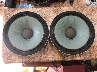 JBL123A-1 Pair of Heath 401-133 Alnico Woofers JBL Collectors Must SEE! L@@K!