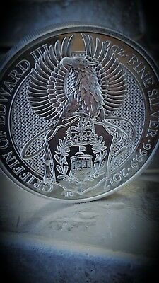 2017 Great Britain Queen's Beasts The Griffin - 2 oz silver coin