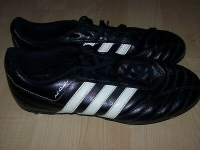 hot sale online 6aa5a b2923 Adidas Adi Questra Black White Studded Football Boots Size UK 5,Used Vgc