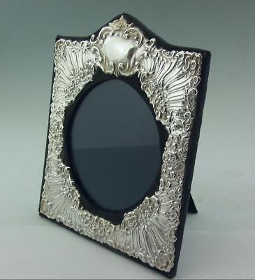 Stunning Vintage Silver Photo Frame John Bull 1990 8.5 Inch X 7.25 Inch