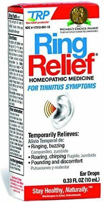 Ring Relief Homeopathic Ear Drops 0.33 fl oz