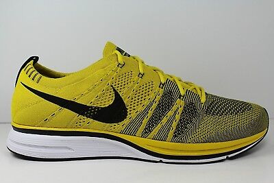560f62ae7060 Nike Flyknit Trainer AH8396-700 Bright Citron White Men Shoes Size 10.5