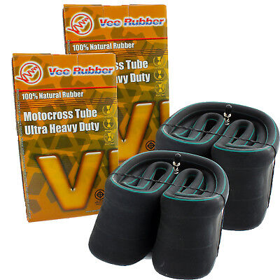 Vee Rubber Mx Ultra Heavy Duty Motocross 120/90-19 Rear 80/100-21 Front Tube
