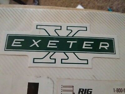 Exeter Drilling Decal