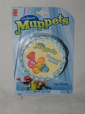 MUPPETS Blueberry Lip Gloss by LOTTA LUV Dr Teeth & The Electric Mayhem UNUSED