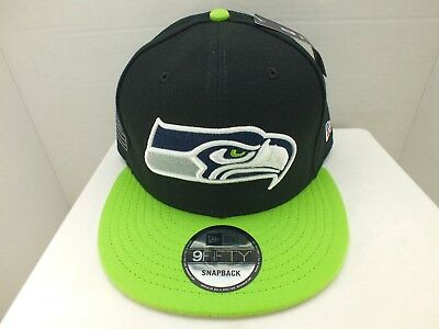 81df48bcfac SEATTLE Seahawks Hat Cap Retro SNAPBACK NEW ERA 9FIFTY NEW MADE IN THE USA