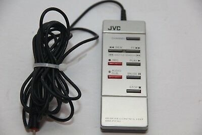 Vintage JVC RM-P73U Silver Tone Remote Control Unit Made For Camcorder Remote