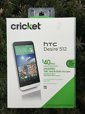 competitive price 477d8 750f1 HTC DESIRE 512 (Cricket Wireless) 4G LTE 4.7