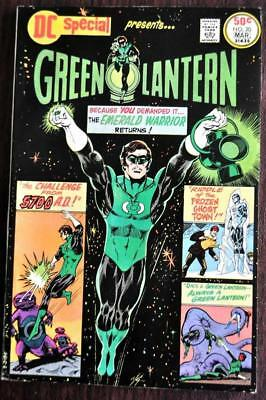 * DC Special #20 VF 8.0 GREEN LANTERN Original OWNER Collection *