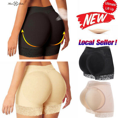 FAKE ASS Women's Butt and Hip Enhancer Booty Padded Underwear Panties Shaper NEW