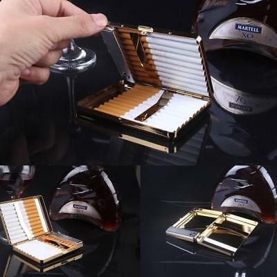 Gold Cigarette Case Dispenser With Built in Torch USB Lighter or 20 PACK A.au