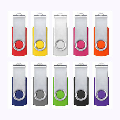 10 PACK 10X 64MB USB 2.0 Flash Memory Stick Storage Drive U Disk Gift Wholesale