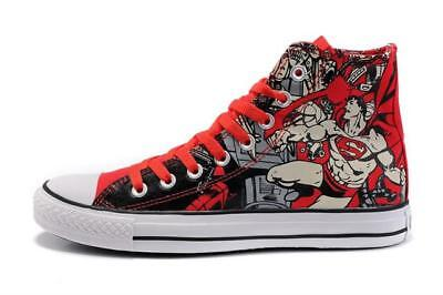 bf1b8baae403 NEW CONVERSE DC Comics Superman All Star Chuck Taylor Shoes Sneakers ...