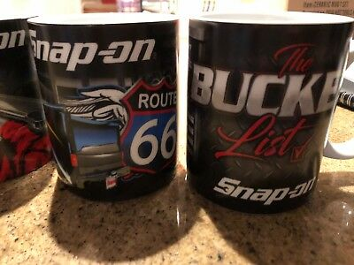 Snap on Tools set of 4 coffee mugs new in box