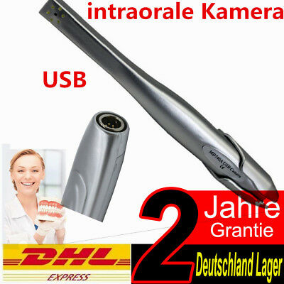 "NEU Dental intraorale Kamera USB / VGA Ausgang 1/4 ""Sony HAD CCD Oral Camera DHL"