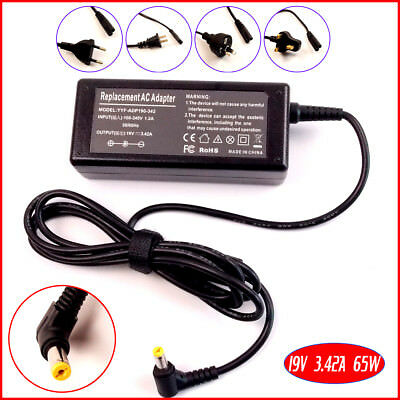 New 65W 19V 3.42A AC Power Adapter Charger For Acer Aspire 5732 5740 5920 Laptop