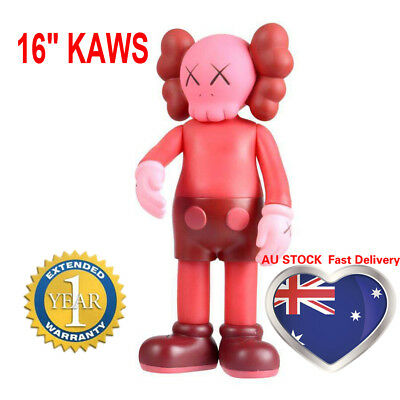 "16"" KAWS Full Dissected Companion Action Figures Toy Red Gift Fun Doll 37cm Pink"