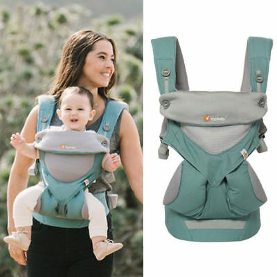 Ergo 360 Cool Air Icy Mint Baby Carrier Four Position Slings Backpacks N0 Box