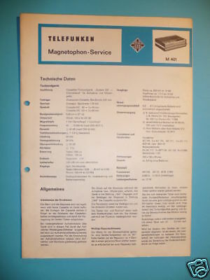 Tv, Video & Audio Telefunken Service Manual Für M 501